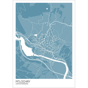 Map of Pitlochry, United Kingdom