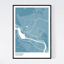 Load image into Gallery viewer, Map of Pitlochry, United Kingdom