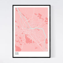 Load image into Gallery viewer, Pori City Map Print