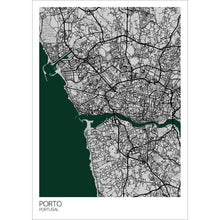Load image into Gallery viewer, Map of Porto, Portugal