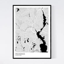 Load image into Gallery viewer, Providence City Map Print
