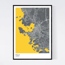 Load image into Gallery viewer, Map of Pula, Croatia