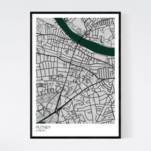 Load image into Gallery viewer, Map of Putney, London
