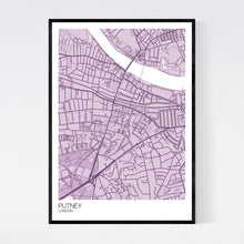 Load image into Gallery viewer, Putney Neighbourhood Map Print
