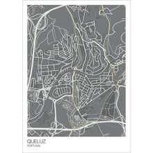 Load image into Gallery viewer, Map of Queluz, Portugal
