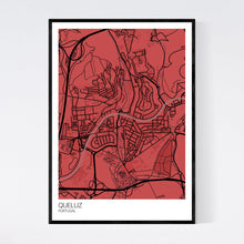 Load image into Gallery viewer, Queluz City Map Print