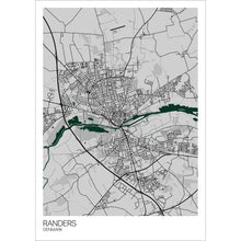 Load image into Gallery viewer, Map of Randers, Denmark