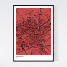 Load image into Gallery viewer, Map of Ravenna, Italy