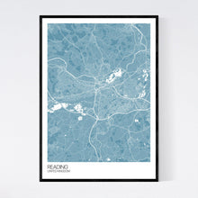 Load image into Gallery viewer, Reading City Map Print