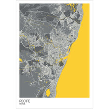 Load image into Gallery viewer, Map of Recife, Brazil