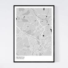 Load image into Gallery viewer, Redditch City Map Print