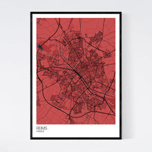Load image into Gallery viewer, Reims City Map Print
