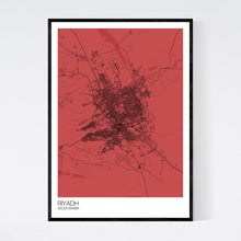 Load image into Gallery viewer, Riyadh City Map Print