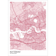 Load image into Gallery viewer, Map of Rotterdam, Netherlands