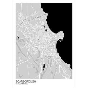 Map of Scarborough, United Kingdom