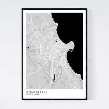 Load image into Gallery viewer, Map of Scarborough, United Kingdom