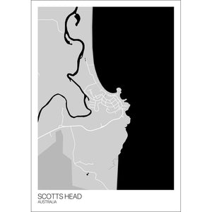 Map of Scotts Head, Australia