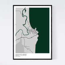 Load image into Gallery viewer, Scotts Head Town Map Print