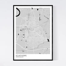 Load image into Gallery viewer, Map of Scunthorpe, United Kingdom