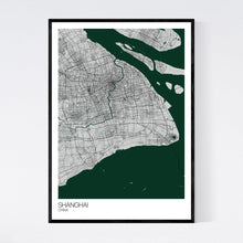 Load image into Gallery viewer, Shanghai City Map Print
