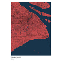 Load image into Gallery viewer, Map of Shanghai, China
