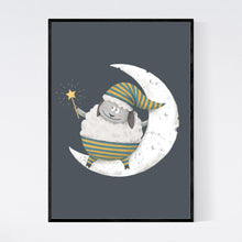 Load image into Gallery viewer, Bedtime Sheep Print