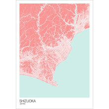 Load image into Gallery viewer, Map of Shizuoka, Japan