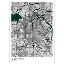 Load image into Gallery viewer, Map of Shreveport, Louisiana