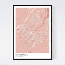 Load image into Gallery viewer, Map of Sittingbourne, United Kingdom