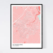Load image into Gallery viewer, Sittingbourne City Map Print
