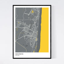 Load image into Gallery viewer, Skegness Town Map Print
