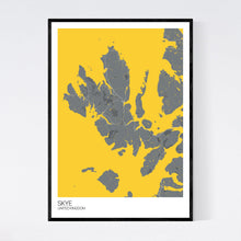 Load image into Gallery viewer, Skye Island Map Print