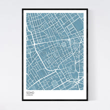Load image into Gallery viewer, Map of Soho, London