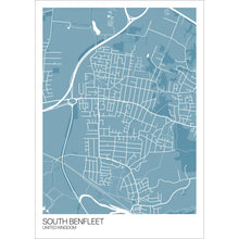 Load image into Gallery viewer, Map of South Benfleet, United Kingdom