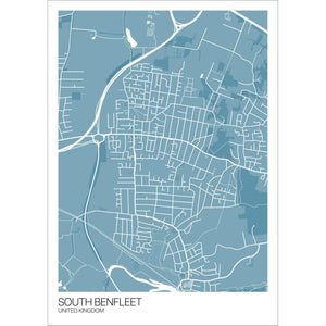 Map of South Benfleet, United Kingdom