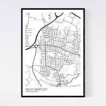 Load image into Gallery viewer, South Benfleet City Map Print