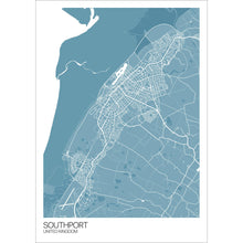 Load image into Gallery viewer, Map of Southport, United Kingdom