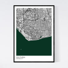 Load image into Gallery viewer, Southsea Town Map Print