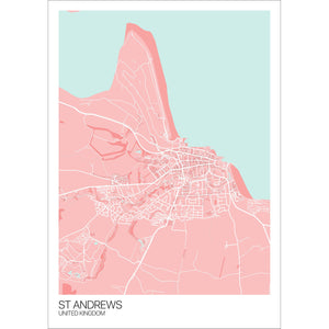 Map of St Andrews, United Kingdom
