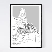 Load image into Gallery viewer, St Andrews City Map Print