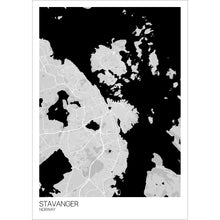 Load image into Gallery viewer, Map of Stavanger, Norway