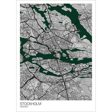 Load image into Gallery viewer, Map of Stockholm, Sweden
