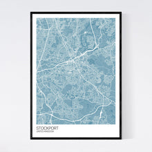 Load image into Gallery viewer, Map of Stockport, United Kingdom