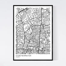 Load image into Gallery viewer, Stoke Newington Neighbourhood Map Print