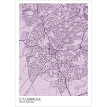 Load image into Gallery viewer, Map of Stourbridge, United Kingdom