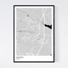 Load image into Gallery viewer, Map of Swords, Ireland