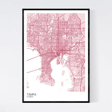 Load image into Gallery viewer, Map of Tampa, Florida