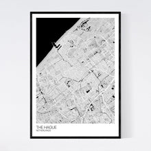 Load image into Gallery viewer, The Hague City Map Print