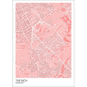 Map of The Inch, Edinburgh