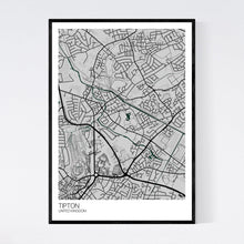 Load image into Gallery viewer, Tipton City Map Print
